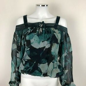 Guess By Marciano Blouse 100% Silk XS